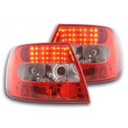 FK-Automotive LED feux arrières pour Audi A4 berline (type B5) An 95-00, clair/rouge