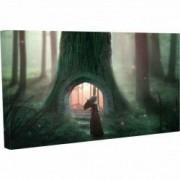 Tablou Canvas Trepte spre copacul urias 20 x 30 cm