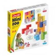 Joc Educativ Pentru Copii Quercetti Mini Zoo 4061 Animale De La Zoo 9 Piese Multicolore