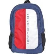 Tommy Hilfiger Laptop Backpack(Red, White, Blue)