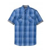 bpc bonprix collection Rutig kortärmad skjorta med bekvämt snitt