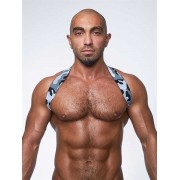 Mister B Urban Camo Sling Back Club Harness Grey 820553
