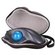 LTGEM EVA Hard Protective Case Travel Carrying Storage Bag for Logitech M570 Wireless Trackball Mouse