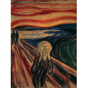 Puzzle Ravensburger - Edvard Munch, The Scream, 1.000 piese (15758)