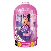Papusa figurina Minnie Mouse - Glam and train - La sport