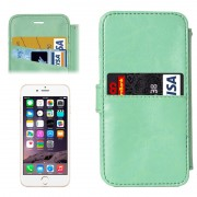 2 in 1 Separable Back Cover Card Slot Style PU Leather Case for iPhone 6 & 6S(Green)