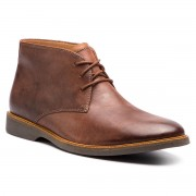 Обувки CLARKS - Atticus Limit 261367397 Mahogany Leather