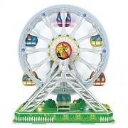 Daron Ferris Wheel 3D Puzzle with Lights & Motorized (77 Piece)