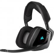 HEADPHONES, Corsair VOID RGB ELITE Premium, Gaming, Wireless, Dolby 7.1, Microphone, Carbon Black (CA-9011201-EU)
