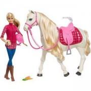 Комплект Барби - Кукла и Интерактивен кон с движения и звуци, Barbie, 1710049