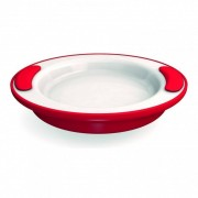 Ornamin Assiette Isotherme, ROUGE