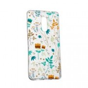 Husa Silicon Transparent Slim Spirng Flowers Huawei Honor 5C Honor 7 Lite