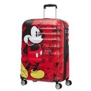 AMERICAN TOURISTER Disney Wavebreaker Trolley Mickey Comics 77cm Rosso