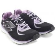 Lotto Sunrise II W Running Shoes For Women(Black, Purple)