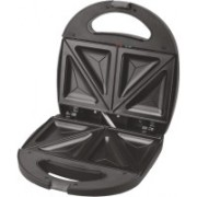 Wama Sandwich Maker with Triangle Plates - Elite WMSM 10 Toast(Black)