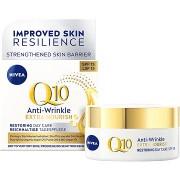 NIVEA Q10 Power Anti-Wrinkle + Extra-Nourishing SPF15 nappali arckrém 50 ml