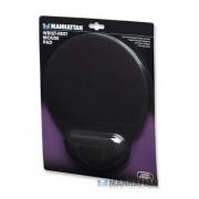 Mousepad ergonómico de gel color negro Manhattan 434362