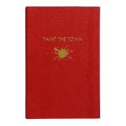 ユニセックス SLOANE STATIONERY Paint the Town ノート ボルドー