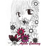 Anime Coloring: Coloirng Book Anime Style Perfect Gift for Anime Lover, Paperback/Anime Art