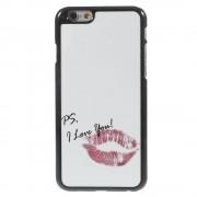 Love you aluminium skin iPhone 6 Hardcase