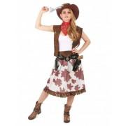 Disfraz de vaquera mujer Talla única (40)