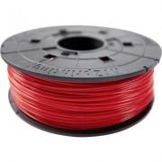 3D nyomtató szál XYZprinting PLA műanyag 1.75 mm Piros 600 g Junior (1436735)
