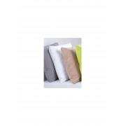 Janine Soft-seersucker-overtrekset, ca. 155x200cm Janine wit