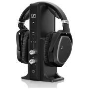 HEADPHONES, Sennheiser RS 195, Wireless, Black (508675)
