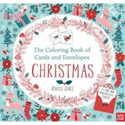 The Coloring Book of Cards and Envelopes: Christmas, Paperback/Nosy Crow