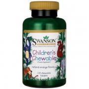Swanson Multiwitamina dla dzieci 120 tabletek do ssania