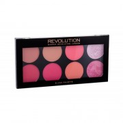 Makeup Revolution London Blush Palette 12,8 g paleta 8 líceniek pre ženy Sugar And Spice