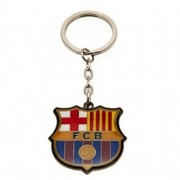 DX9™ Football Team Metal Crest, Spinners and T-Shirt Keyring (Various Teams to Choose from!) All Keyrings Come in Official Packaging (Barcelona Fc Keyring)