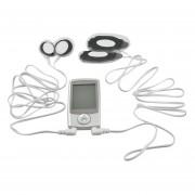 Eléctrico Masajeador De Digital Con Terapia De Pulso Función Para Masaje Músculo Y El Cuerpo Completo - Plata