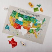 Melissa and Doug All American USA Floor Puzzle