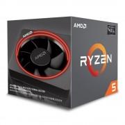 CPU, AMD RYZEN 5 2600X /4.25GHz/ 19MB Cache/ AM4 (YD260XBCAFMAX)