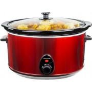Oala electrica Slow cooker Andrew James AJ000241, Volum 8 Litri, Vas Ceramic
