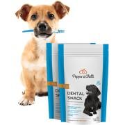 PepperChilli Dental Snack 1+1 ZDARMA: psí pamlsek s čistící silou pro zdravé zuby a dásně.