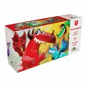 Puzzle Gigant Dragoni veseli 30 piese