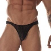 Don Moris Transparent Printed Fabric Bikini Underwear DM031730