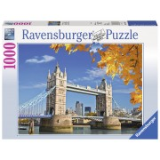 PUZZLE TOWER BRIDGE, 1000 PIESE - RAVENSBURGER (RVSPA19637)