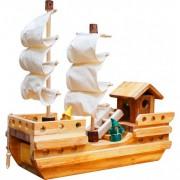 Qtoys Wooden Pirate Ship