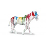Poney - Statue design multicolore