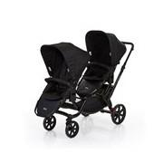 Zoom 2017 carrinho de passeio para bebés gémeos cor coal - ABCDesign
