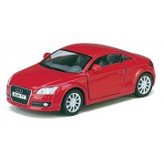 Kinsmart 1:32 Scale Audi TT Coupe Die-Cast Car with Openable Doors & Pull Back Action