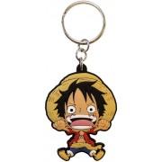 AbysseCorp Llavero ONE PIECE - Keychain Luffy SD