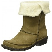 Clarks Women's Avington Grace Beige Boots - 5 UK/India (38 EU)