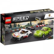 Конструктор ЛЕГО СПИЙД ШАМПИОНИ - Porsche 911 RSR и 911 Turbo 3.0, LEGO Speed Champions, 75888