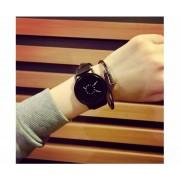 Kreatívne hodinky moderne čierne