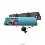 Camera Auto Oglinda Full HD cu touchscreen SM 909 + MicroSD 16Gb, CAR Triple