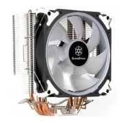 SilverStone SST-AR12-RGB Argon CPU Cooler, 4 Direct Contact Heatpipes, 120mm PWM RGB Fan, Intel/AMD (SST-AR12-RGB)